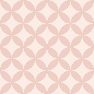 Geometric Diamond Tile -  Pink