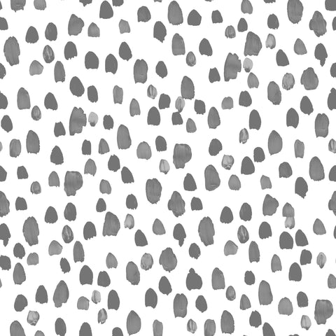 Dalmation Spots - Grey Pop