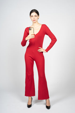 red jumpsuit margeamirage mid season winter spring 2020/21