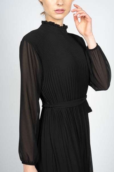 margeamirage black pleated dress mid season 2020/21