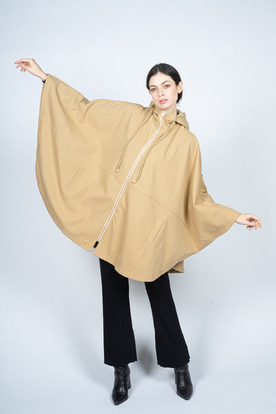 bat wing beige overcoat margeamirage mid season winter spring 2020/21