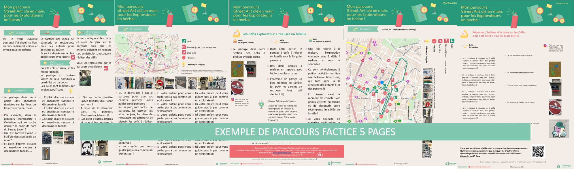 parcours factice explorhappy