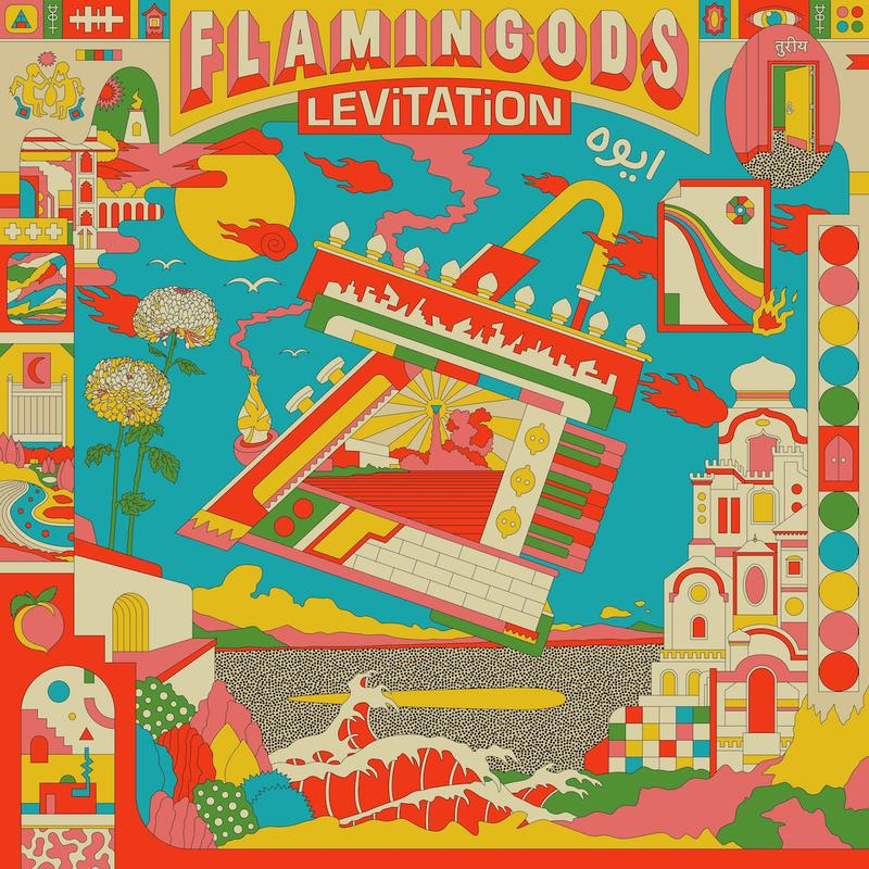 Flamingods - Levitation (Splatter Vinyl)