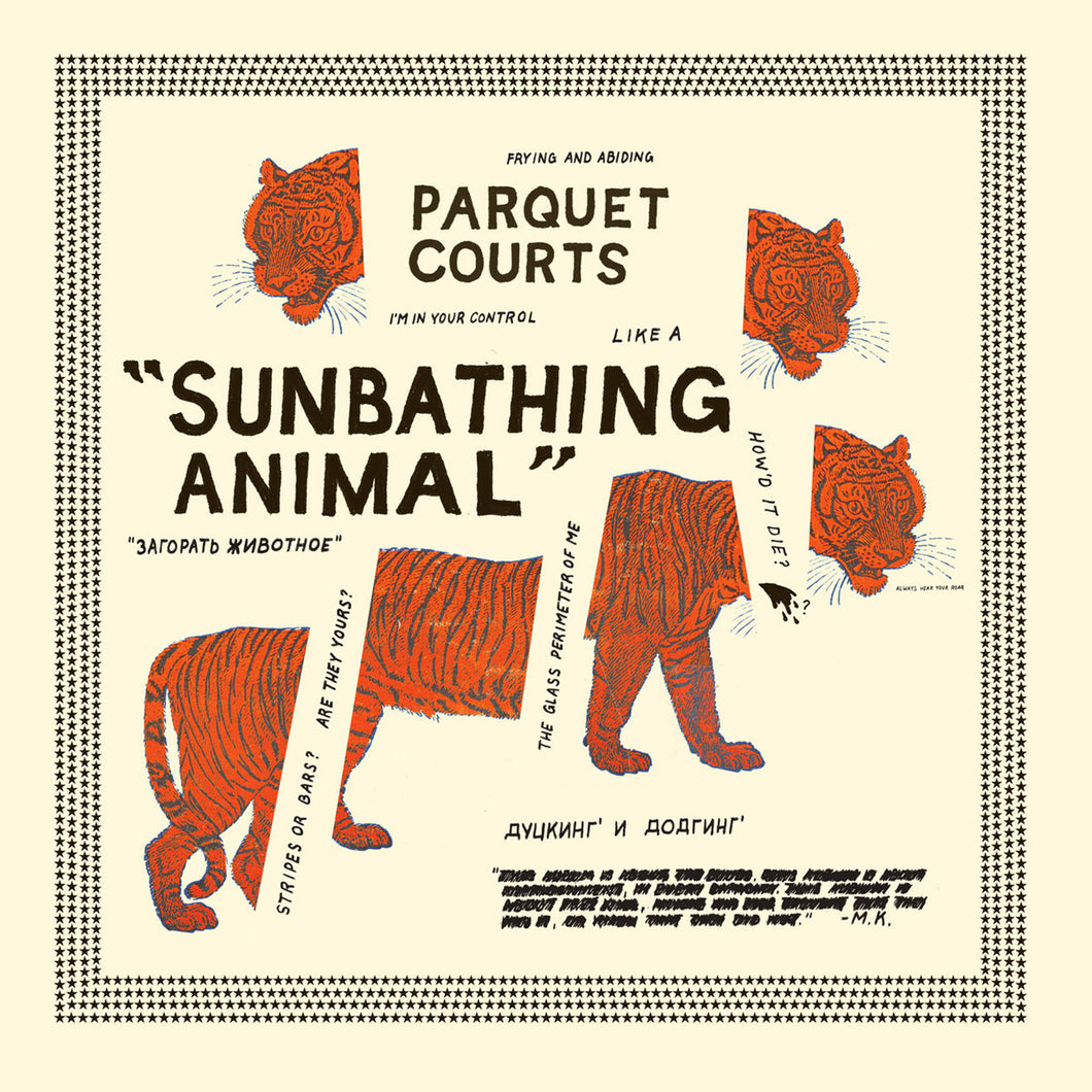 Parquet Courts - Sunbathing Animal