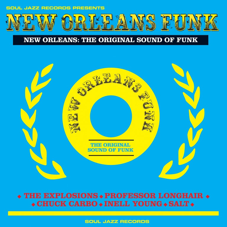 Soul Jazz Records - New Orleans Funk Boxset