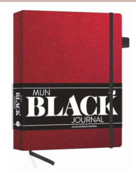 Mijn black journal - Red Velvet