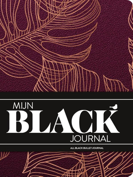 Mijn black journal - Monstera