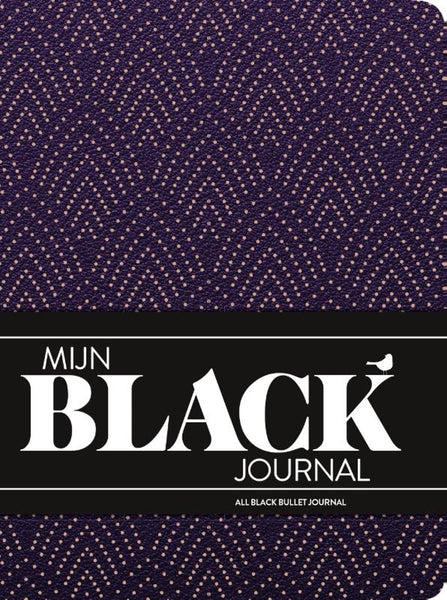 Mijn black journal - Purple rain