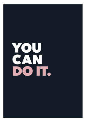 You can do it - Marya Volker