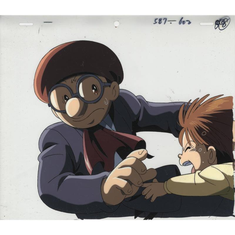 Original Last Mystery of the 20th Century Anime Cel