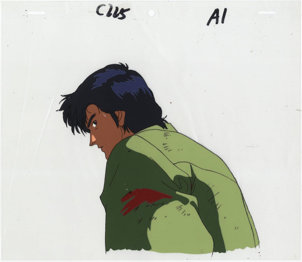Original City Hunter Anime Cel