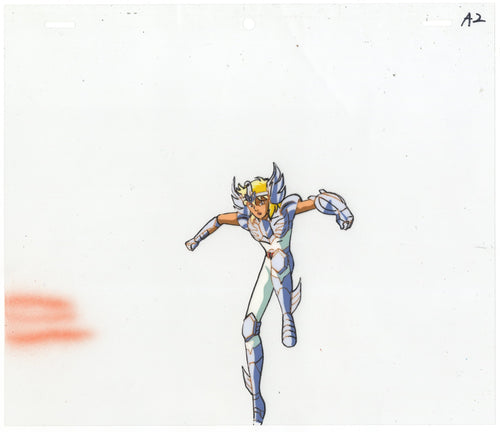 Original Saint Seiya Anime Cel
