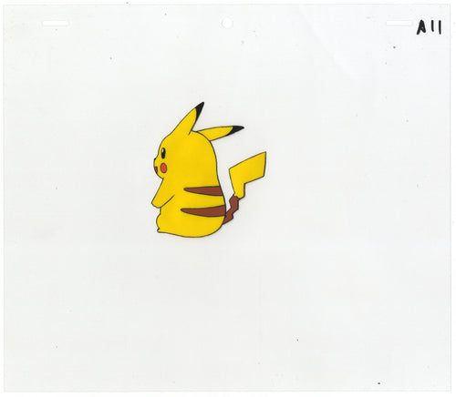 Original Pokemon Anime Cel