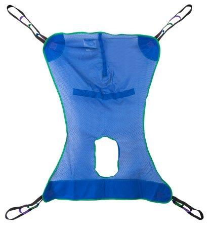 Full Body Commode Sling McKesson 4 or 6 Point Without Head Support X-Large 600 lbs. Weight Capacity - McKesson