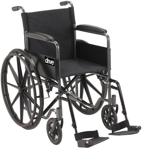 Silver Sport 1 Wheelchair - Drive Medical