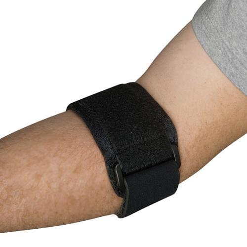 Blue Jay Tennis Elbow Strap Universal Black.