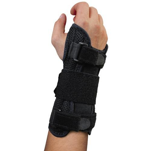 Blue Jay Deluxe Wrist Brace (Black) for Carpal Tunnel.