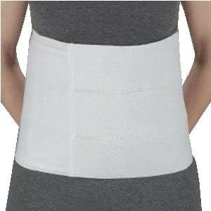 "DeRoyal Solid Panel Abdominal Binder Universal, 27"" to 48"" Waist."