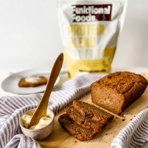 High-protein banana bread