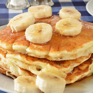 Vegan Banana Protein Pancake Recipe