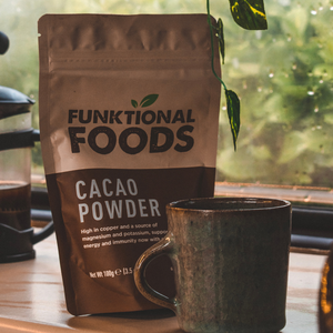 5 sub 5 minute cacao powder recipes