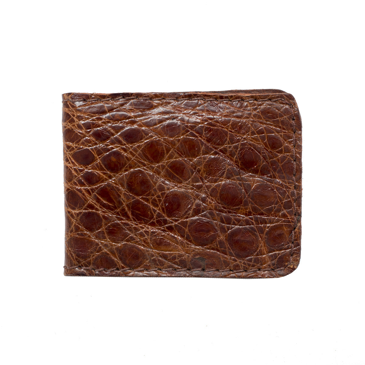 Alligator Leather Billfold Wallet