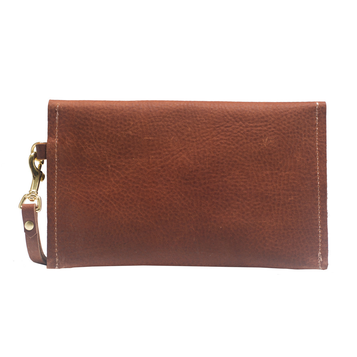 Copper Leather Clutch Clutch Wristlet, Rosa Clutch
