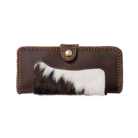 Austin Cowhair + Leather Wallet