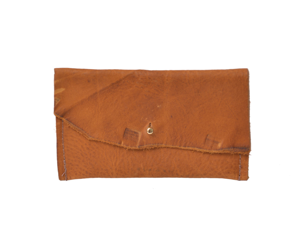 Leather Wallet, Summer Sunset Mini Wallet