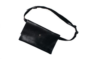 Fanny Pack, Belt Bag, Modern Leather Festival Bag