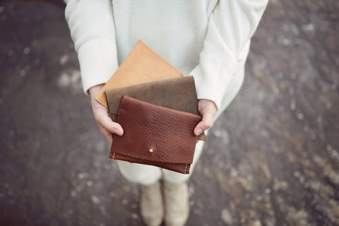 Petite Leather Ladies Wallets