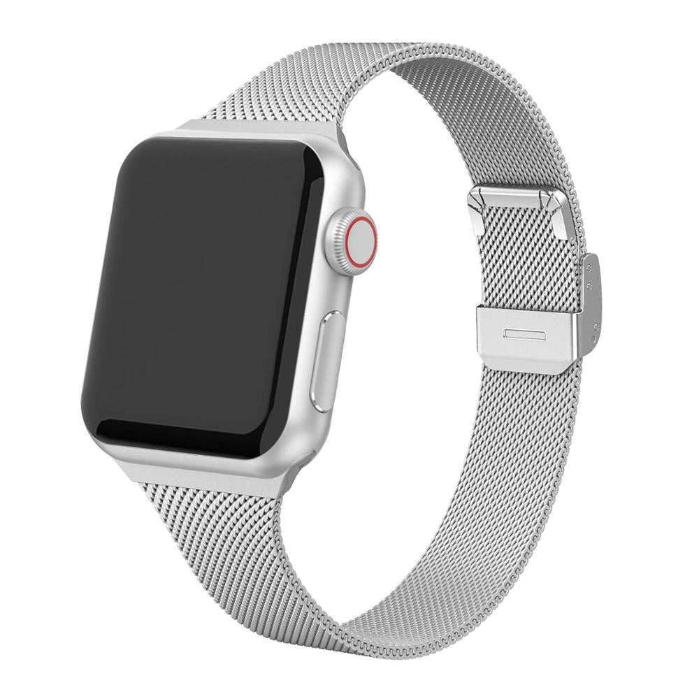 strap For Apple Watch band 44mm 40mm Stainless steel metal bracelet correa for Apple watch 6 5 4 3 SE for iWatch band 42mm 38mm