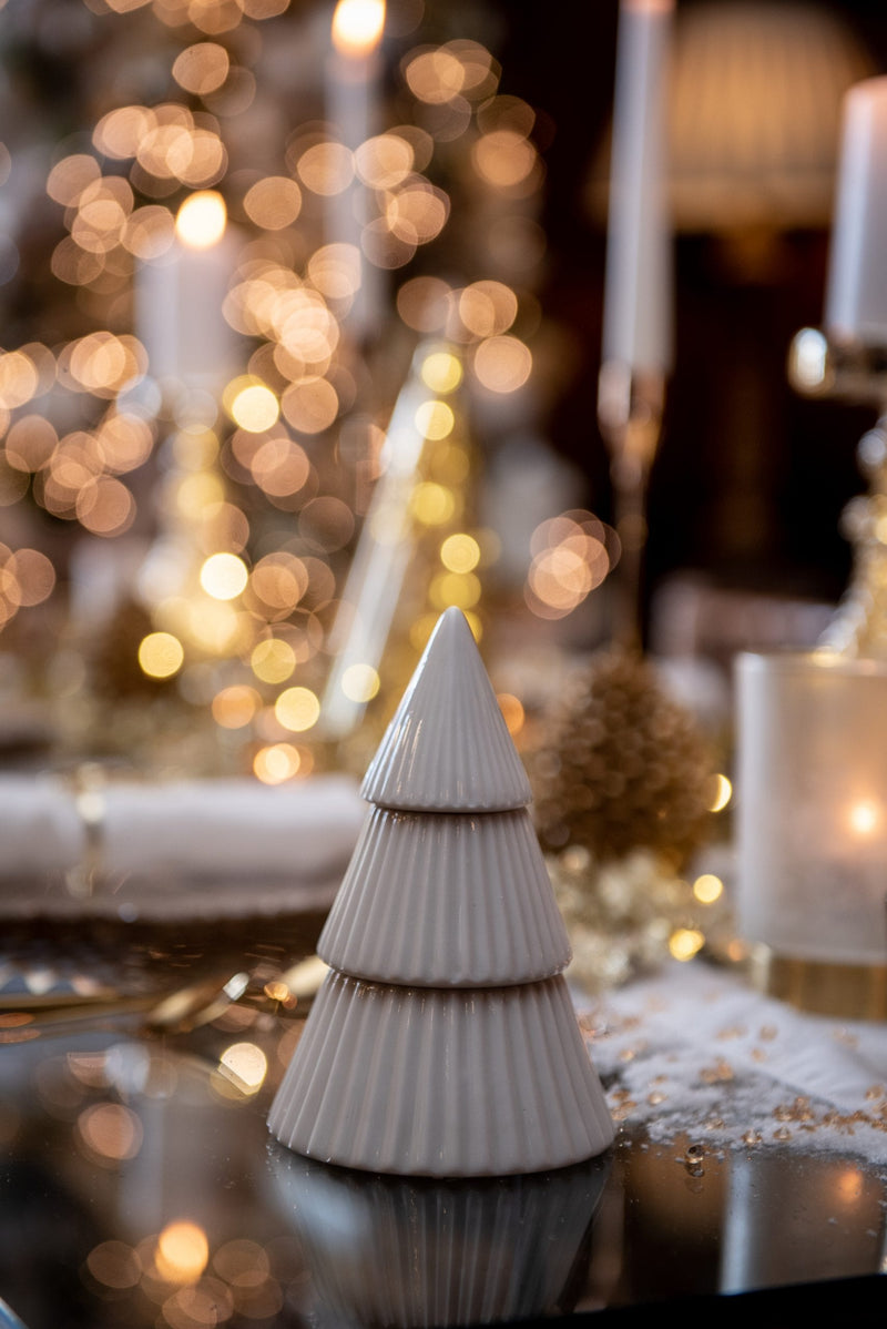 White Porcelain Tree (13.4cm)