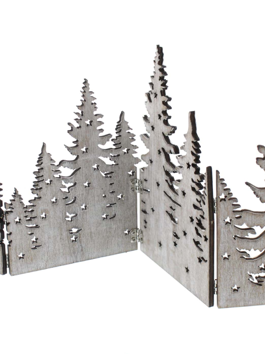 Wooden Fold out Tree Scene (46cm)