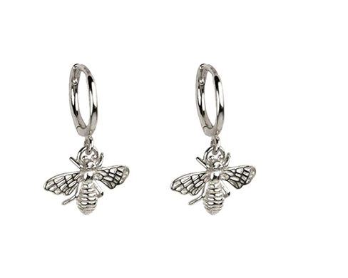 Pendientes Bee Plata - Dalila Jewels