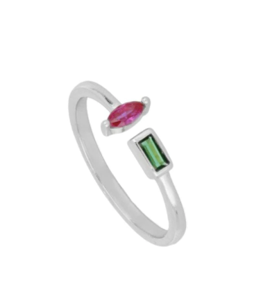 Anillo Claire Plata - Dalila Jewels