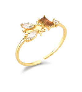 Anillo Bee Miel - Dalila Jewels