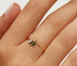 Anillo Bee Grey - Dalila Jewels