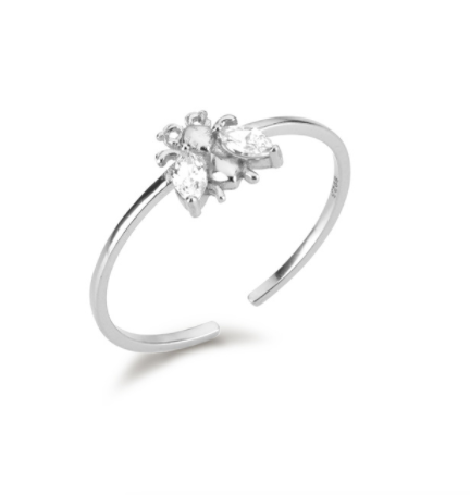 Anillo Bee Plata - Dalila Jewels
