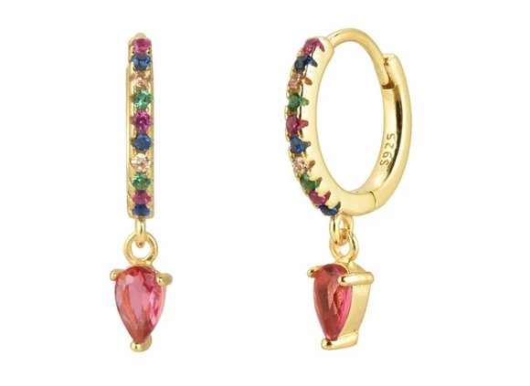 Pendientes Rainbow - Dalila Jewels