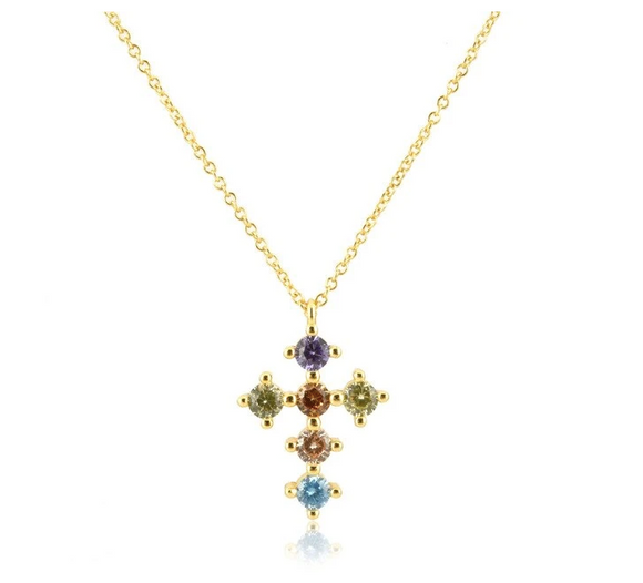 Collar Cross - Dalila Jewels