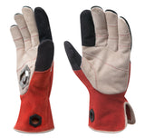 side views of the tailgating gloves showing the StoneBreaker Fit to Work pattern