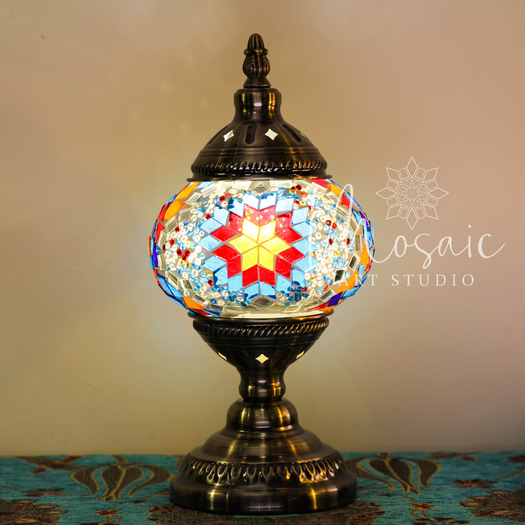 Handmade Turkish Mosaic Lamp