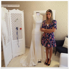 2014 - Brazil ( Getting ready for the 1st fitting)