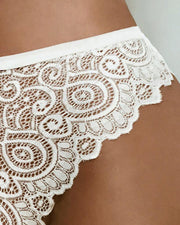 Guipure Lace Hollow Out Panty - Xmadstore
