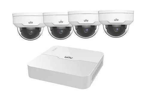 4CH NVR KIT + 2MP Fixed Lens Cameras - EIGPRO