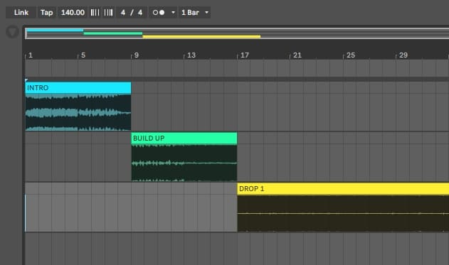 How to Arrange a Full Track - Song Structure in Ableton Live