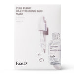 Load image into Gallery viewer, Pure-Plump-Ha4-Hyaluronic-Acid-Face-Mask-5-Pieces-FaceD-Moisturisers