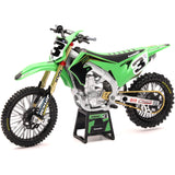 NEW-RAY 1:12 SCALE FACTORY KAWASAKI ELI TOMAC #3 BONUS #1 STICKER