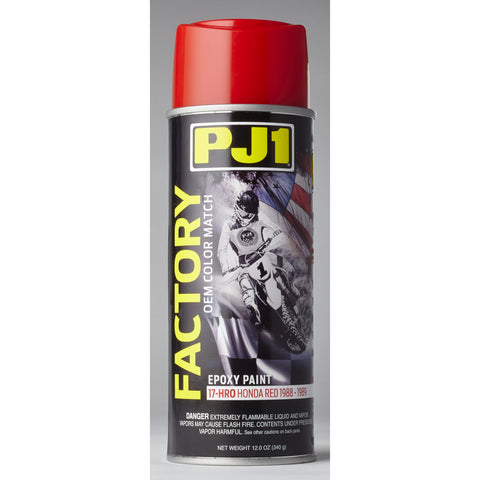 11oz Aerosol Honda Red Factory OEM Paint